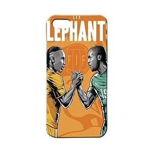 BLUEDIO Designer 3D Printed Back case cover for Apple Iphone 4 / 4S - G3330