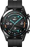 HUAWEI Watch GT 2 Matte Black inklusive Geschenkgutschein [Exklusiv bei Amazon]