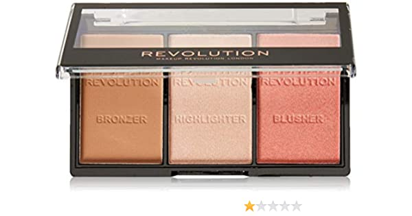 Buy Makeup Revolution London Ultra Brightening Contour Kit Ultra Fair C01, 11g Online at Low Prices in India - Amazon.in