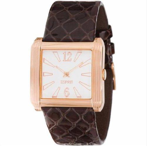 Esprit ES101192702 - Reloj de mujer de cuarzo, correa de piel color
