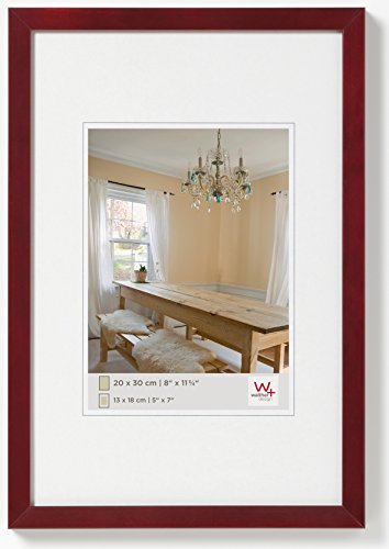 walther design BP050R Peppers Bilderrahmen, Holz, 40 x 50 cm, mahagoni