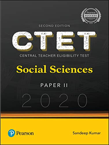 CTET 2020: Paper 2 | Social Sciences | Second Edition | By Pearson