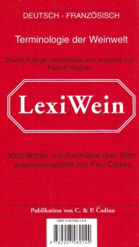 LexiVin/LexiWine 2002