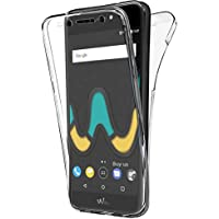 Coque Gel Wiko UPulse Lite , Buyus Coque 360 Degres Protection INTEGRAL Anti Choc , Etui Ultra Mince Transparent INVISIBLE pour Wiko U Pulse Lite , Coque Wiko UPulse Lite