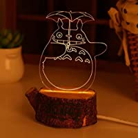 Projection Night Light Creative Gift 3D LED Night Light Romantic Bedside lamp Gift lamp