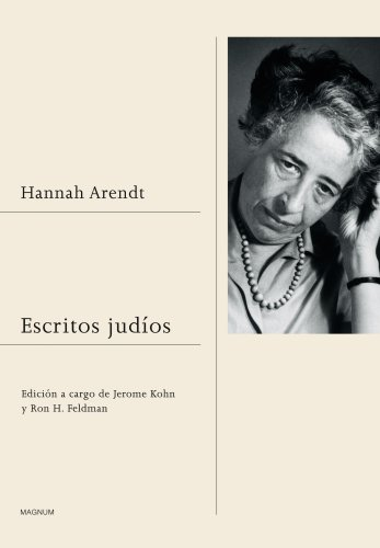 Escritos judíos (Magnum) por Hannah Arendt