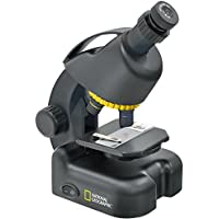 National Geographic 40-640x Microscope avec Adaptateur pour Smartphone