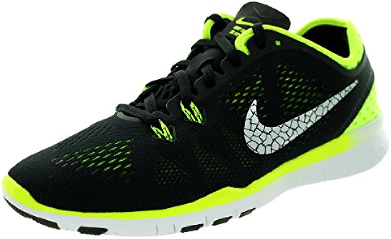 Zapatillas de entrenamiento Nike Free 5.0 TR Fit 5 Breathe, negras / voltios / plateadas met¨¢licas, tama?o 9...
