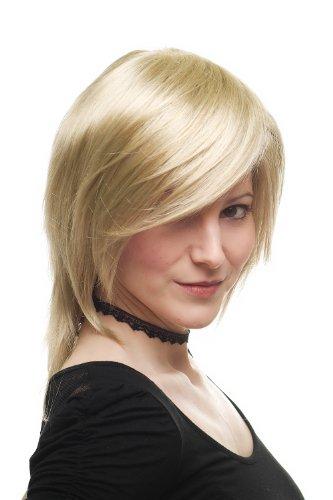 Damenperücke Perücke Rock Chick schulterlang blond voluminöses Top, ausgedünnte Spitzen 3272-234 (Haare Rock-chick)
