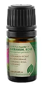 Olio di Geranio Rosa - Olio Essenziale Puro al 100% - 10ml