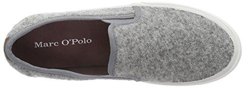 Marc O'Polo Damen Sneakers Grau (910 light grey)
