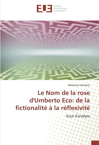 Eco Le Nom De La Rose [Pdf/ePub] eBook