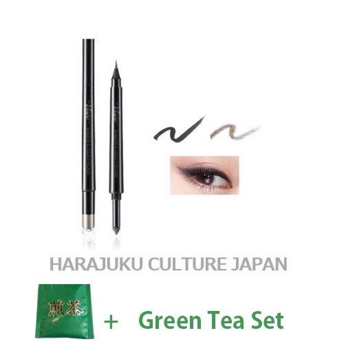Visee Richer Shadow & Liquid Eyeliner (Green Tea Set)