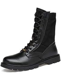 Amazon Botas Cordones Marron es Para Zapatos Claro Hombre PIqPr