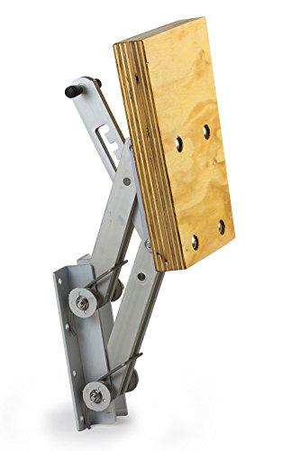 Motorhalter Motorhalterung Boot Außenborder bis 15 PS 4 Positionen Aluminium Holz