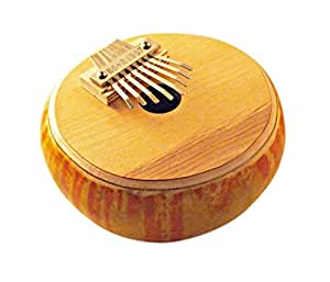 Percussions ETHNO SERIE MM - 1/2 GOURDE RONDE - DIATONIQUE ELECTRO Kalimba