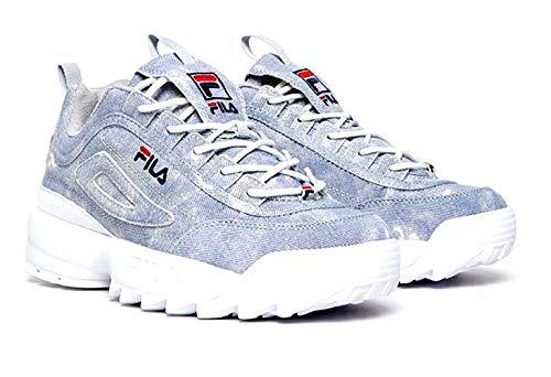 Fila Men's Disruptor II Denim Sneaker