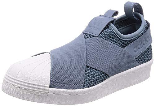 buy popular e3462 da79e Adidas Superstar Slip On W, Scarpe da Fitness Donna, Grigio GrinatFtwbla 0