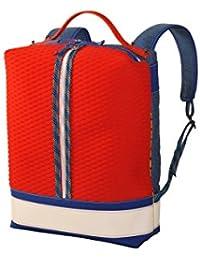 lk43 Semirígida Scuba, Mochila Unisex Adultos, Varios Colores (Red / Blue), 15x45x30 cm (W x H x L)