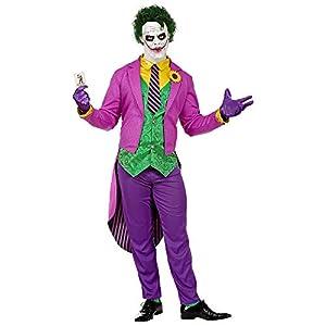 WIDMANN disfraz Mad Joker hombre y adultos, Multicolor, wdm08022