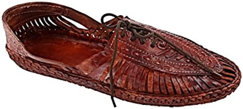 KOLHAPURI CHAPPAL Original Astonishing rosso Marronee Designers' Kolhapuri scarpe for Men Slipper Sandal | The Queen Of Quality  | Uomini/Donne Scarpa