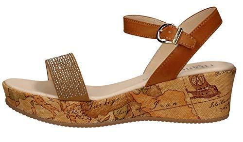 ALVIERO Martini 1°Classe Linea Junior N0319 Sandali Scarpe Donna Fibbia Leather (38 EU)