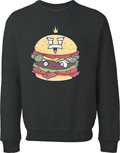 food-king-black-sweater-xl