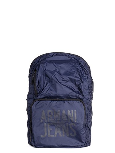 Armani Jeans Foldable Uomo Backpack Blu