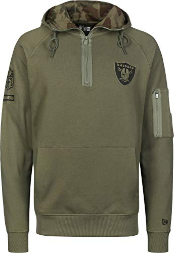 New Era Camo Collection Herren Sweater Oakland Raiders Khaki, Größe:XL Camo Sweatshirt