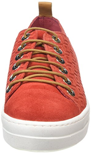 NoBrand Luke, Baskets femme Rouge - Rot (lollipop)