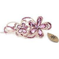 totoroforet: in forma di fiore di Victoria/Vintage stile Bronzo Rhinestones/strass