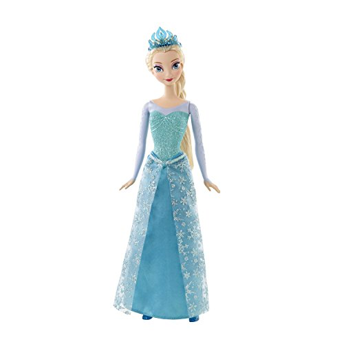 Mattel Disney Princess CFB73 - Märchenglanz Prinzessin Elsa Puppe (Monster High Princess)