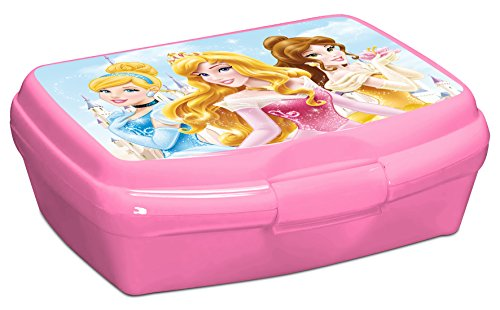 Party Factory Disney Princess Lunchbox Brotbox Frühstück Kindergeschirr (Disney Prinzessin-clip)