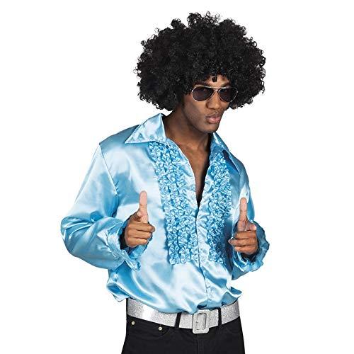 Kostüm Den Stars Mit Tanzen - Boland Hemd, Farbe Hellblau, 2159