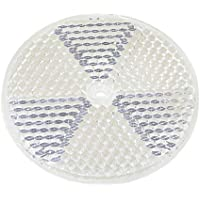 BeMatik - Espejo Reflector catadióptrico para fotocélula fotoeléctrica 77mm Redondo