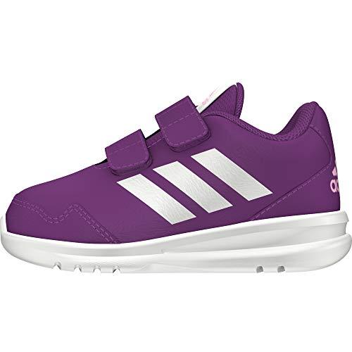 adidas Unisex-Kinder Altarun CF Fitnessschuhe, Violett (Vioray/Ftwbla/Lilcla 000), 26 EU -