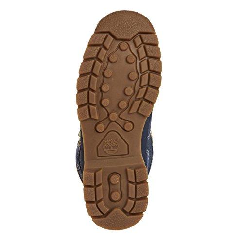 Timberland Euro Hiker Jr A12W3 Kinder Schuhe Beige-Blau-Dunkelblau
