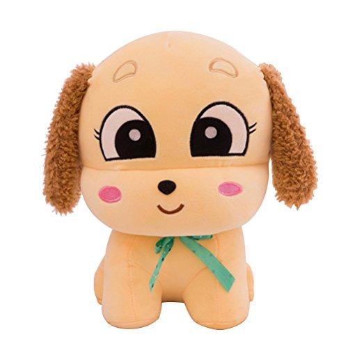 TOYMYTOY Hund Plüsch Stofftier Plüsch Hunde Spielzeug Kissen 40 cm (Beige)