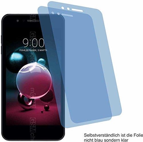 2x Crystal clear klar Schutzfolie für LG K9 Displayschutzfolie Bildschirmschutzfolie Schutzhülle Displayschutz Displayfolie Folie