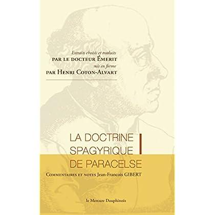 La doctrine spagyrique de Paracelse