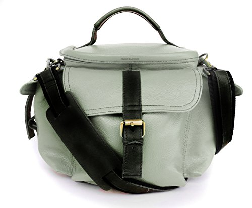 Genuine Leather Bag for Sony Alpha SLT-A58Y 20.1 MP DSLR Camera (#MN_GREY)  available at amazon for Rs.2999