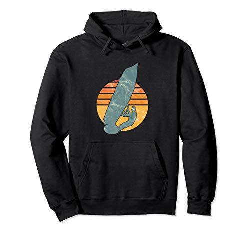 Windsurfer Vintage Wassersport Segel Windsurfen Geschenk Pullover Hoodie