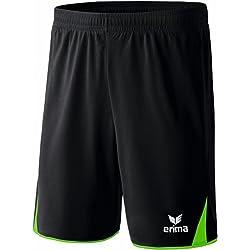 erima-short of entranement-5Cubes black Nero (Schwarz/Green) Size:XL by Erima
