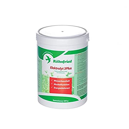 Rohnfried Elektrolyt 3 Plus, an excellent combination of electrolytes specifically designed for high competition pigeons… 2