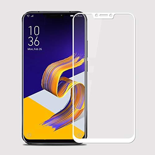 YIHUI Explosionsgeschütztes Glas Flim XINGHCEN MOFI 9H 2.5D Arc Edge Gehärtetes Glas Film für Asus Zenfone 5 (2018) / ZE620KL (Schwarz) Displayschutz (Farbe : Weiß)
