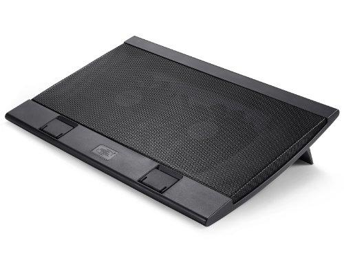 DEEPCOOL Wind Pal Fs Laptop Cooling Pad Zwei 140 mm Lüfter Zwei Betrachtungswinkel 2 USB-Ports Notebook-Kühler