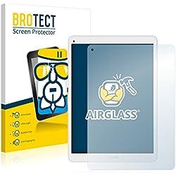 BROTECT AirGlass Protector Pantalla Cristal Flexible Transparente para Archos 97c Platinum Protector Cristal Vidrio - Extra-Duro, Ultra-Ligero, Ultra-Claro