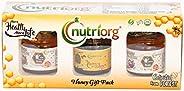 Nutriorg USDA Certified Organic Honey Gift Pack 150g