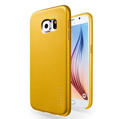 funda-galaxy-s6-azorm-classic-edition-amarillo-edicion-limitada-fina-aspecto-de-cuero-premium-interi