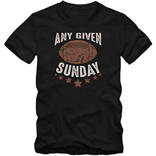 Any Given Sunday #6 T-Shirt | Football | Super Bowl | USA | Herren | Shirt © Shirt Happenz Schwarz (Deep Black L190)